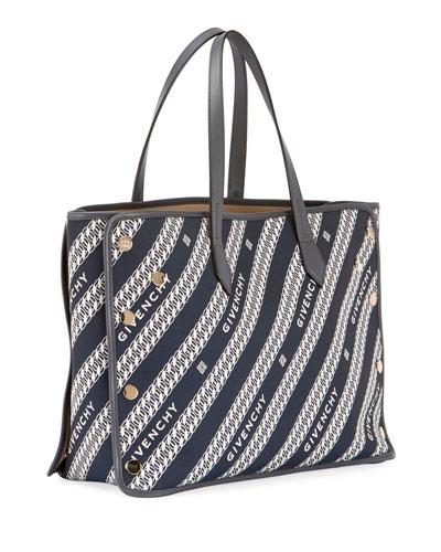 Medium Bond Chain Canvas Tote Bag