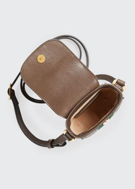 Ophidia GG Supreme Phone Case Crossbody Bag