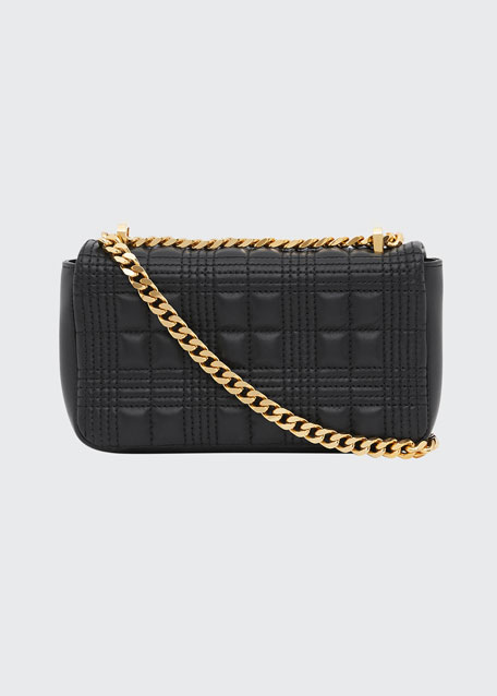 Lola Quilted Leather Crossbody Bag