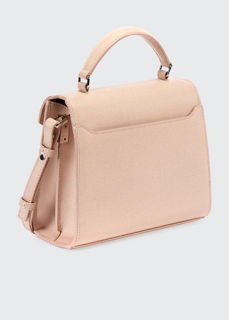 Cassandre Mini Grain de Poudre Top-Handle Bag