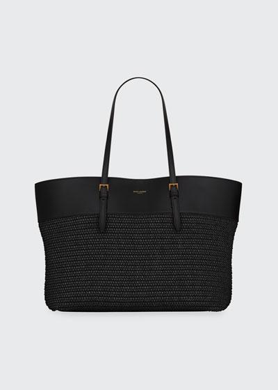YSL Medium Shopper Tote Bag