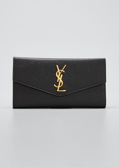 YSL Leather Envelope Wallet