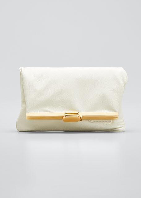 PM Fold-Over Clutch Bag