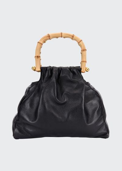 Napa Bamboo-Handle Bag