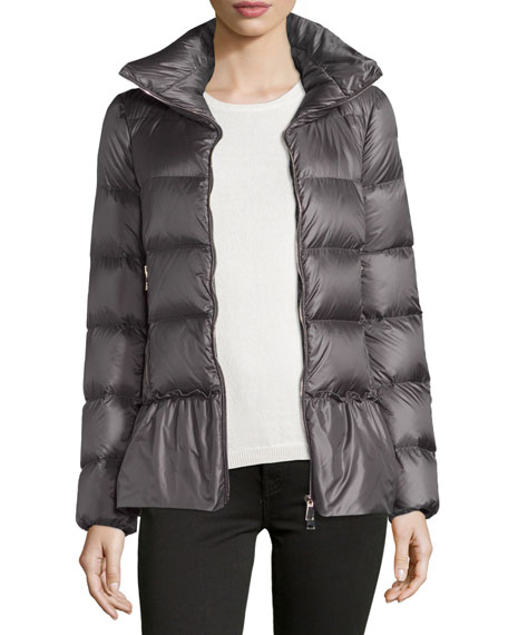 moncler anet quilted-down coat