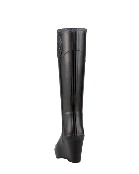 Crest Wedge Rain Boot