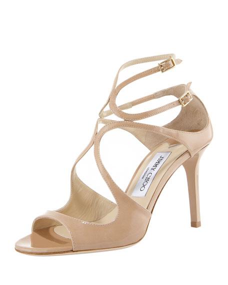 Ivette Patent Sandal