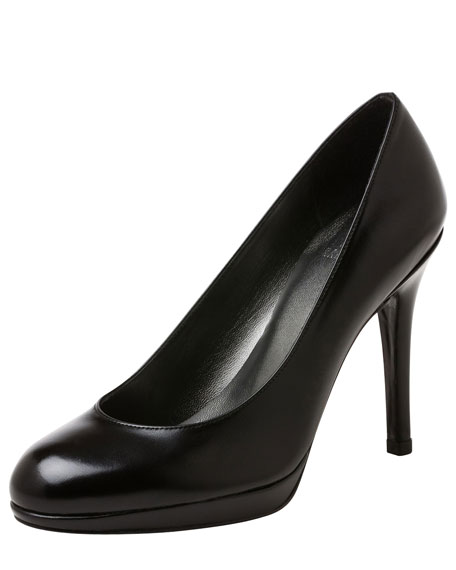 Platswoon Kidskin Leather Pump