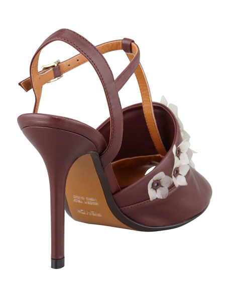 Anemone T-Strap Jelly-Flower Sandal