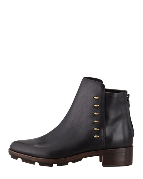 Dover Leather Ankle Boot, Black