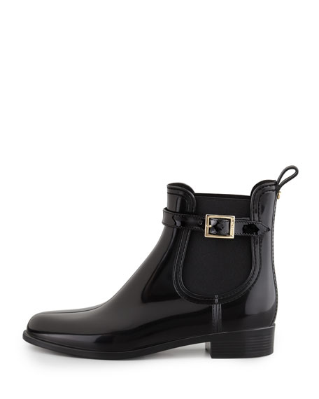 Jai PVC Short Rain Boot, Black