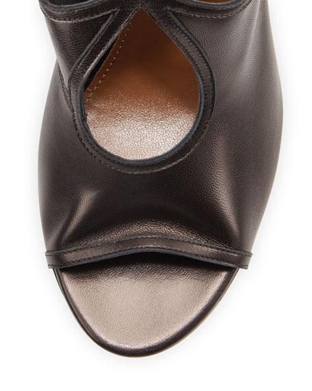 Sexy Thing Napa Tie-Back Keyhole Sandal