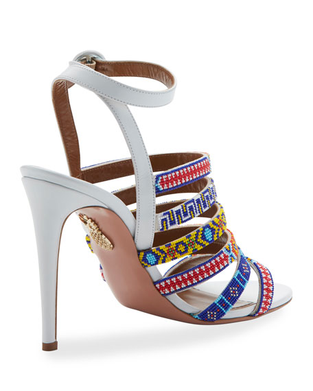 Masai Beaded 105mm Sandal