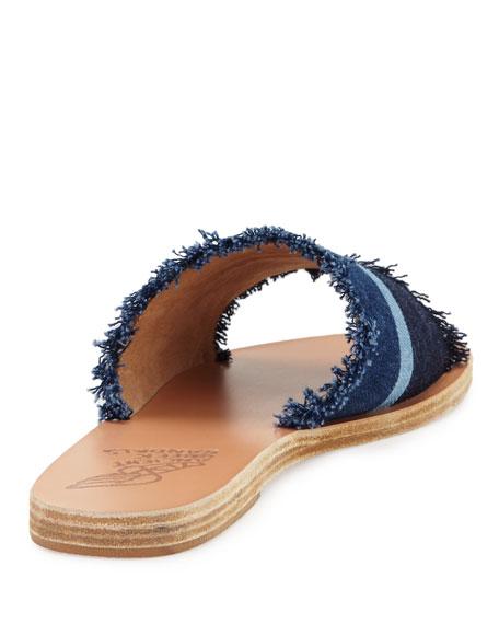 Taygete Calf-Hair Sandal Slide