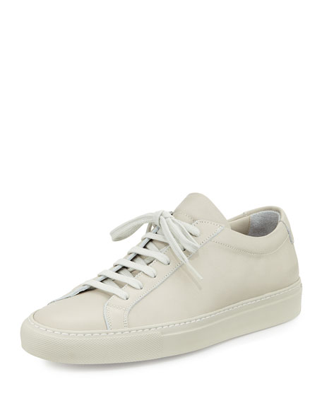 Common Projects Achilles Leather Low-Top Sneaker, White