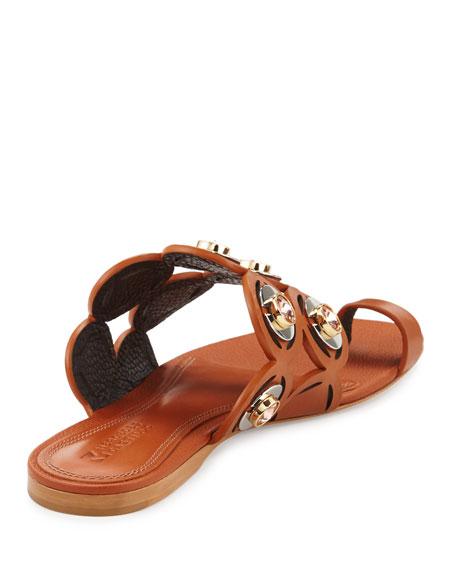 Jalisa Jeweled Toe-Ring Sandal