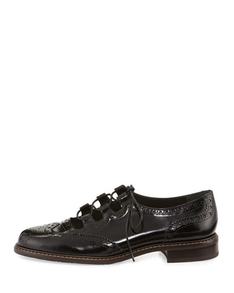 Mrgill Lace-Up Leather Oxford
