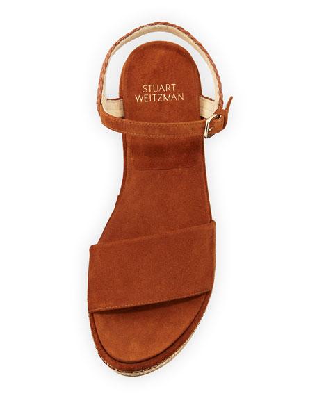 Yourway Suede Espadrille Wedge Sandal