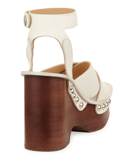 d0f31f06f787 Rag   Bone Hester Leather Wedge Sandal