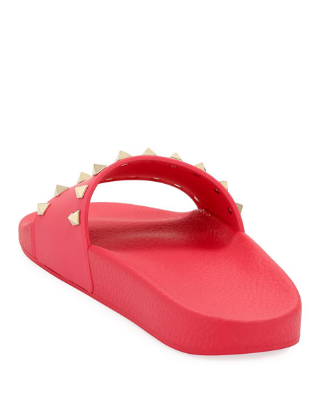 Rockstud Pool Slide Sandals