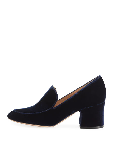 Marcel 60 Velvet Loafer Pump