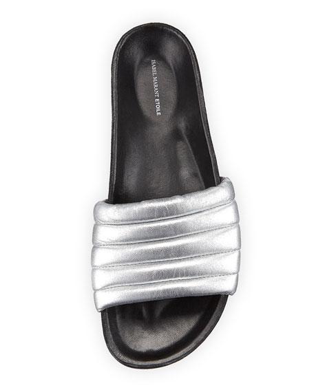 Hellea Leather Slide Sandal