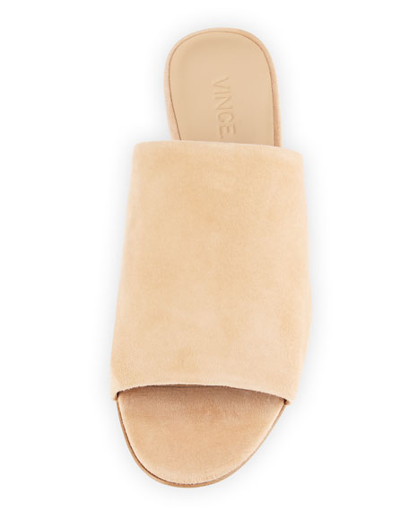 Bartley 2 Suede Flat Mule
