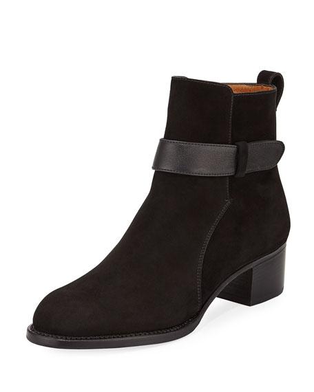 Gravati Suede Ankle-Strap Boot