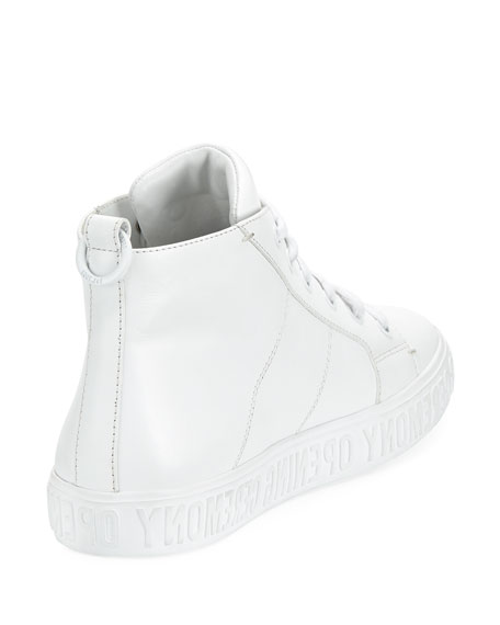 Howard High-Top Sneaker, White