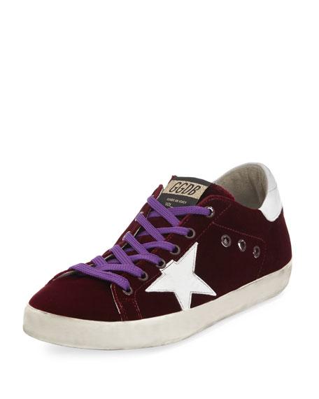Velvet Star Sneaker