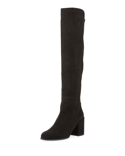 All Jack Suede Knee Boot
