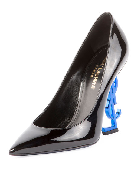 Opyum Patent Pump with Logo Heel