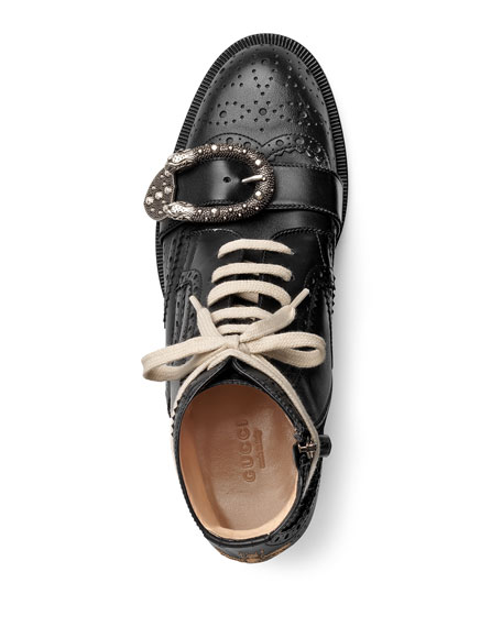 Queercore Brogue Lace-Up Boot