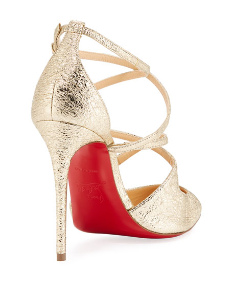 Crossfliketa Strappy Red Sole Pump