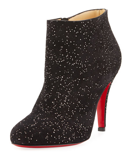 Belle Embellished Red Sole Bootie