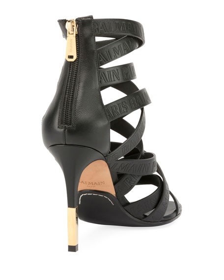 Charlotte Strappy Leather Sandal