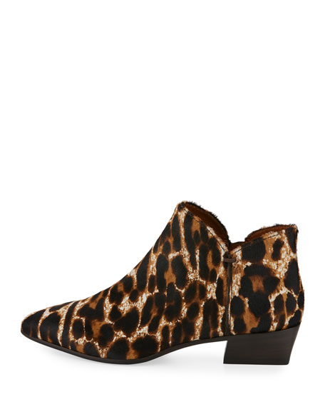 Faydell Leopard-Print Fur Boot