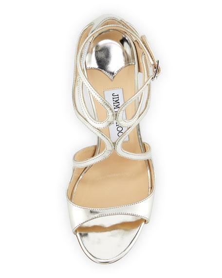 Lang Metallic Leather Sandal