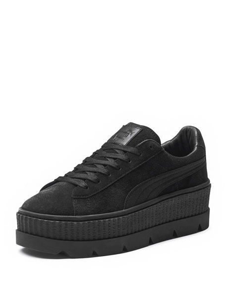 best website 9964d 5e2cb Low-Top Suede Cleated Creeper Sneaker