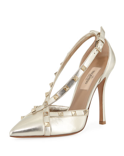 Free Rockstud Metallic Pump