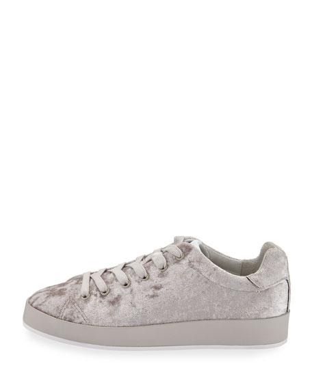 RB1 Low-Top Velvet Low-Top Sneakers