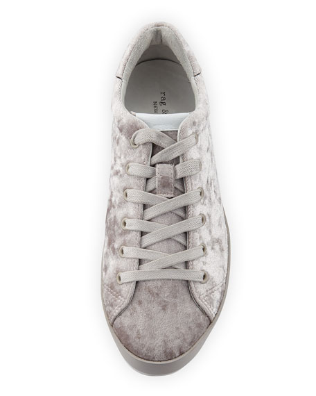 RB1 Low-Top Velvet Low-Top Sneaker