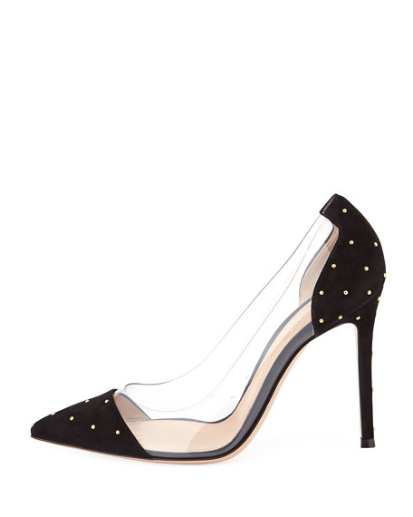 Mini Stud Plexi Illusion Pumps