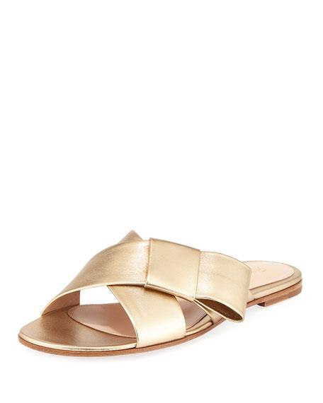 embellished flat sandals - Brown Sergio Rossi uX2YZOK8Yq
