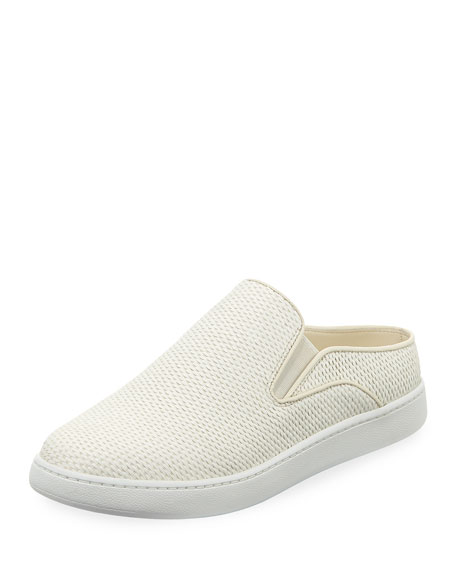 WOMEN'S VERRELL RAFFIA SLIP-ON SNEAKERS