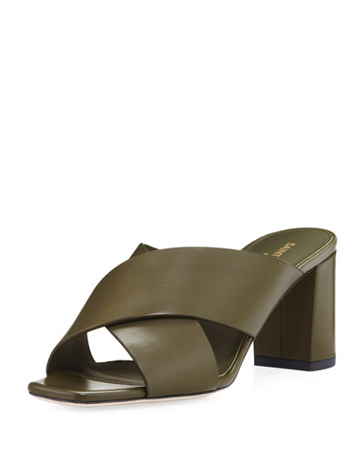 Lou Lou Brushed Slide Sandal