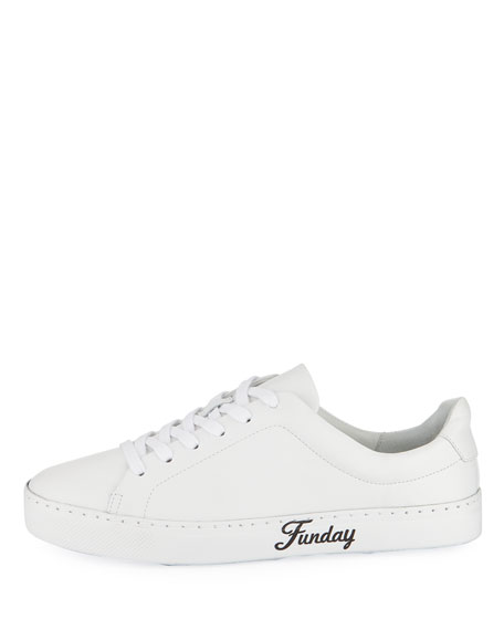Sunday Fun Day Leather Sneaker