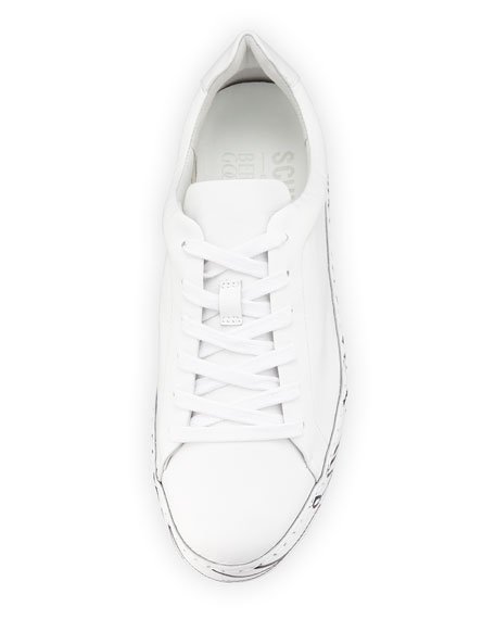 When Nothing Goes Right... Go Left Leather Sneakers