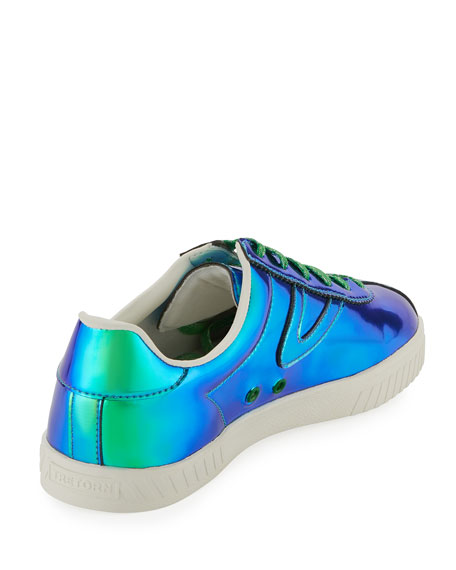 Tretorn Women's Camden Iridescent Lace Up Sneakers tfuUYWD