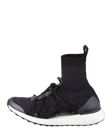 Ultra Boost Mid-Sock Trainer Sneakers